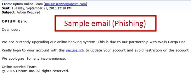 Optum Identify Suspicious Activity